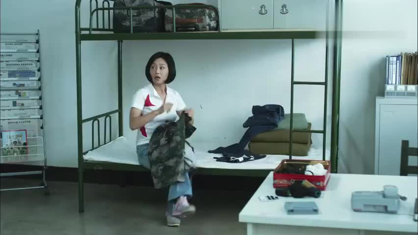 特种兵的媳妇追到部队来了,竟直接住进长官屋里,真是好待遇!