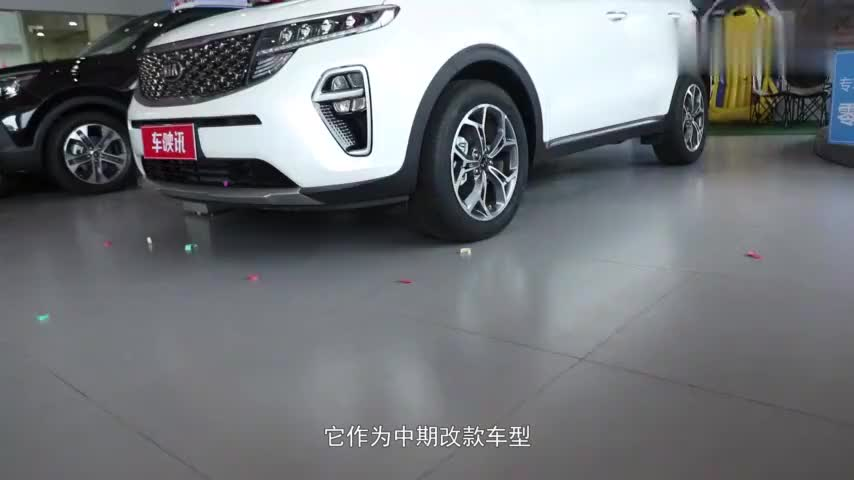 视频:进店探车全新改款的起亚KX5进店实拍,外观内饰依旧亮眼