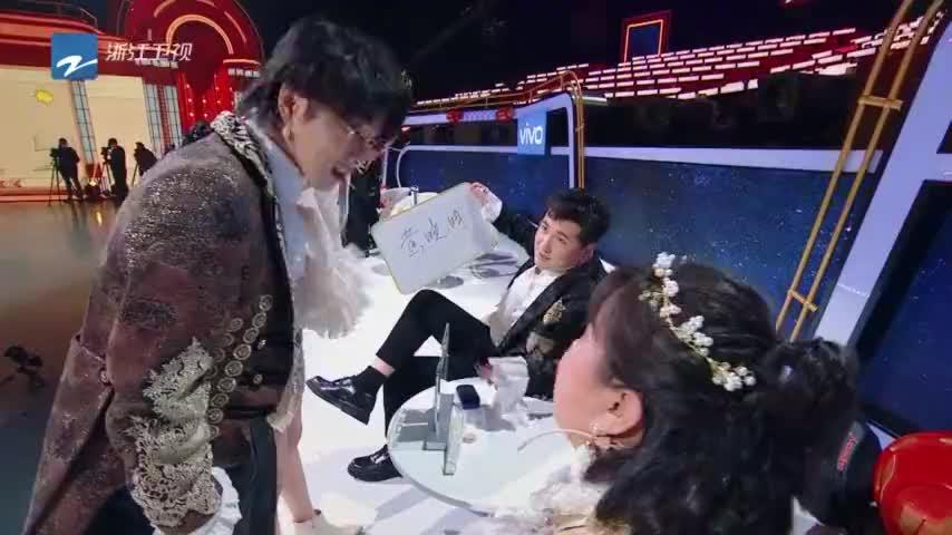 王牌第5季传声筒两队相互出题沈腾给吉娜起外号吉凤芝