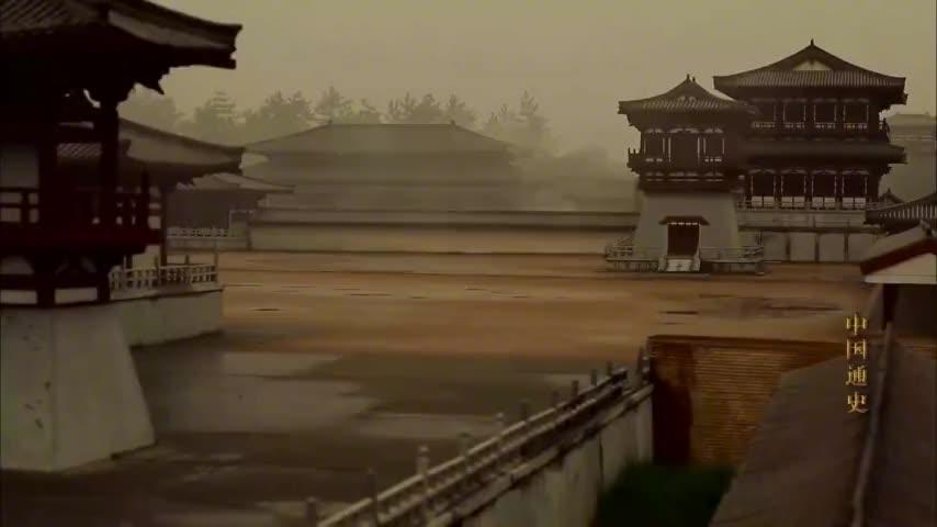 中国通史第45集(2)唐玄宗晚年宠爱杨贵妃,不理朝政