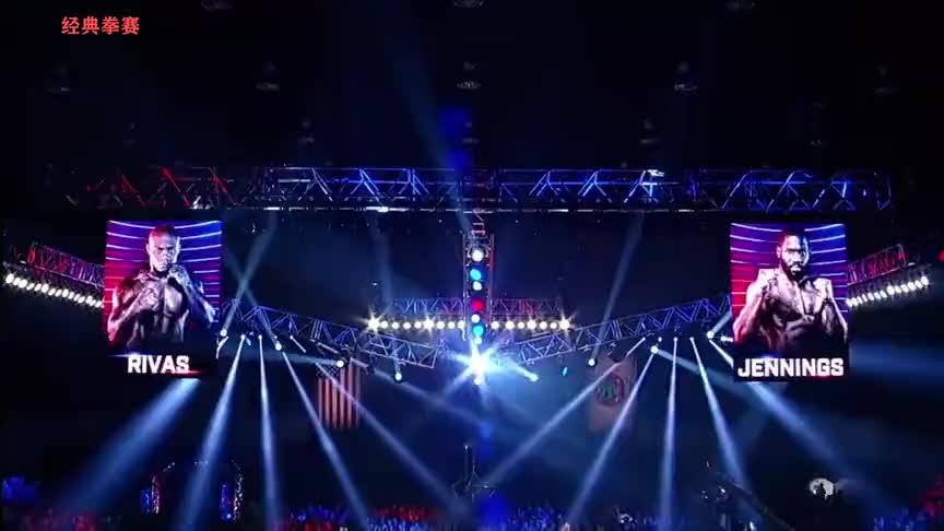 最新重量级拳王争霸战 不败新秀里瓦斯爆冷KO名将詹宁斯