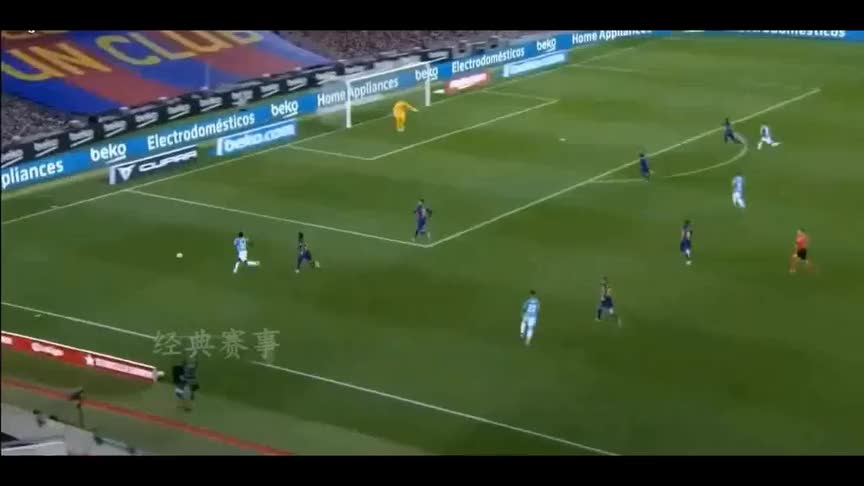 梅西任意球破门,巴萨在诺坎普遭奥萨苏纳绝杀,真是丢人丢到家了