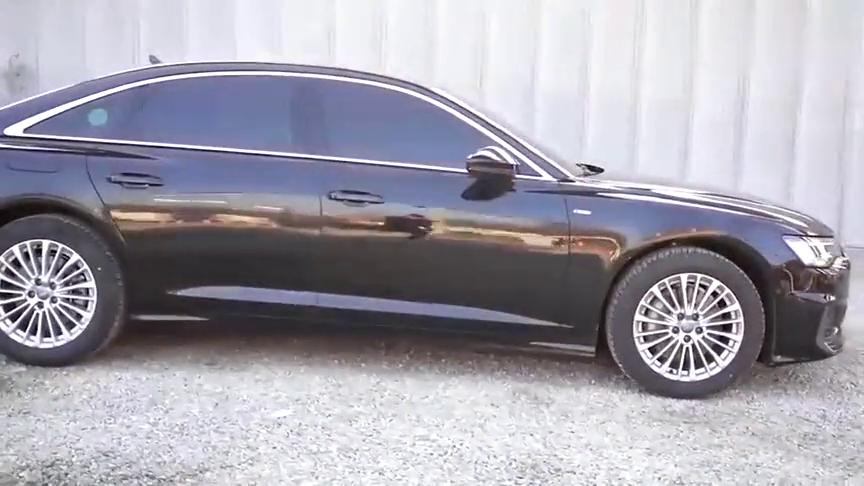 视频:2021款奥迪A6L实车展示