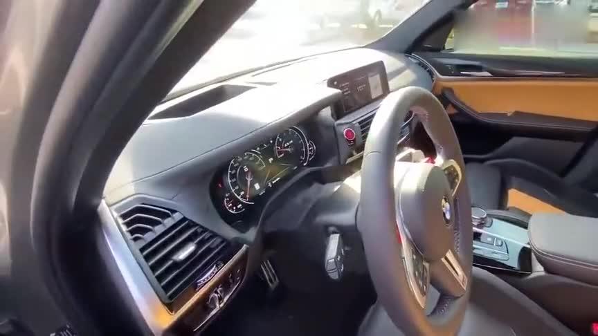 视频:2020款宝马X3M,看到这霸气颜值和内饰