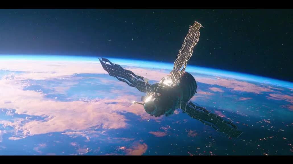 在太空站无法预料下一秒发生什么,可能是太空寒流,机械故障