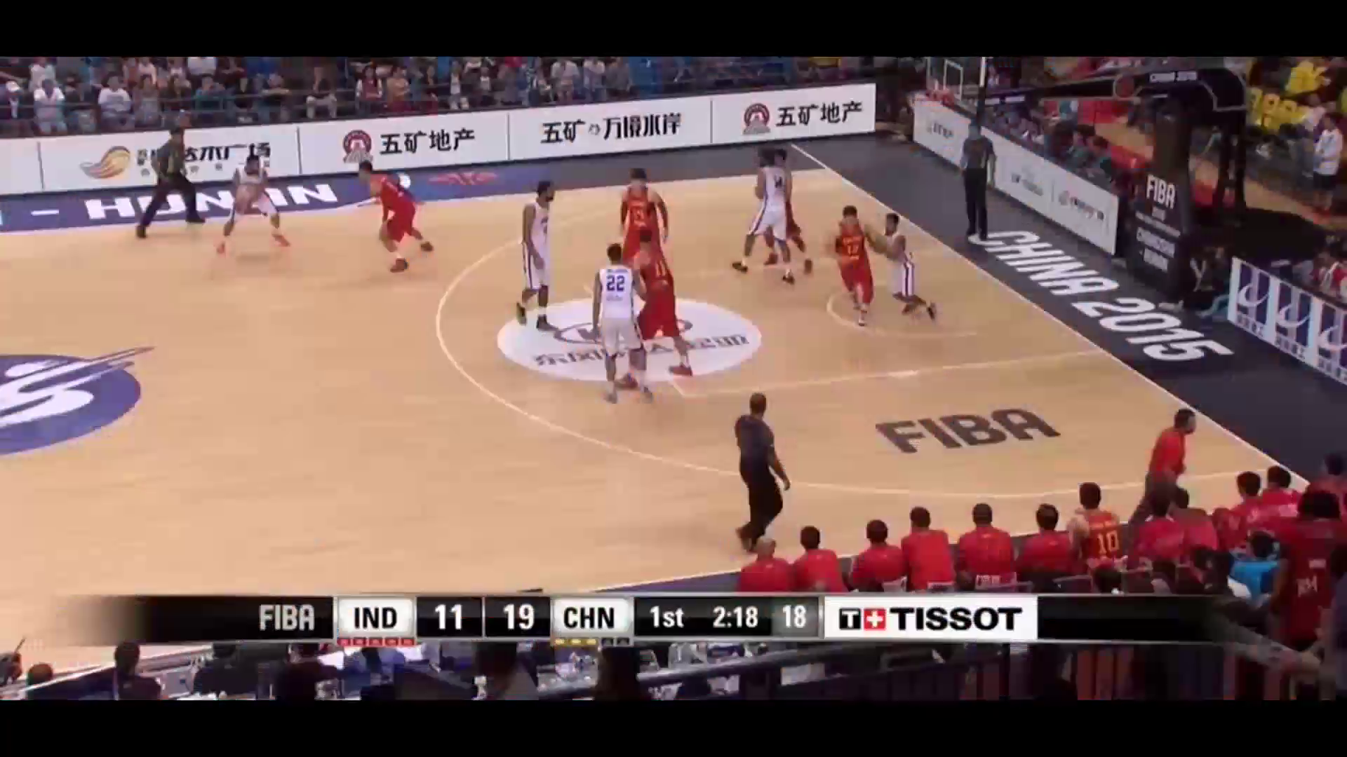 篮球,印度vs中国,易建联比赛成亮点,嗨爆全场!厉害