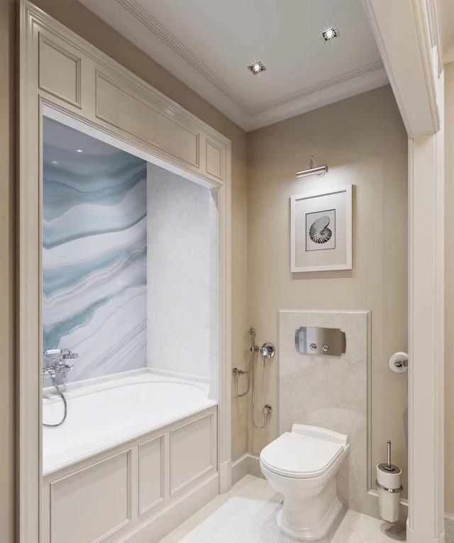 大户型卫浴间设计,给你想要的高级感
