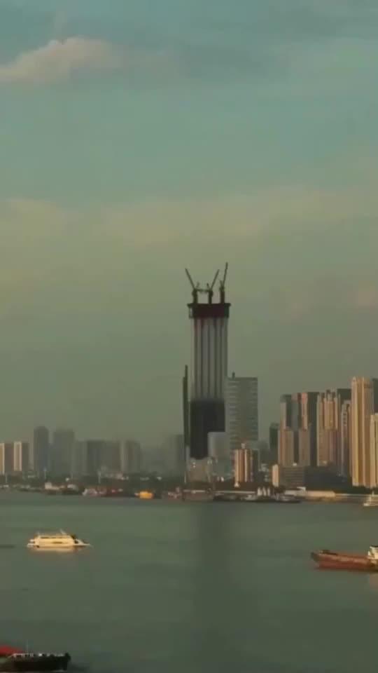 航拍中国最牛建造业整个过程令人大开眼界果然劳动者最光荣