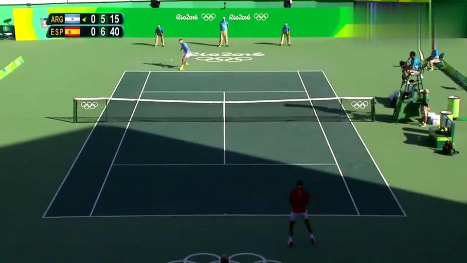 精彩网球回顾,德尔波特罗在一场令人惊讶的网球赛中击败了纳达尔