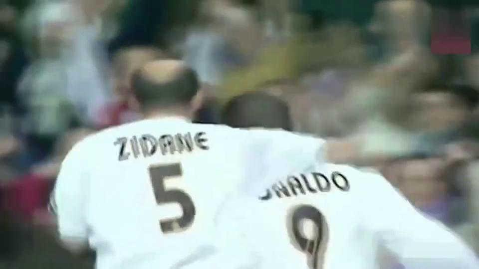 罗纳尔多:我第一次跟齐达内碰面,没想过这秃顶这么会踢球