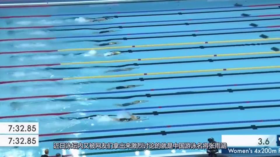 泳坛又一位女神级世界冠军!皮肤白皙身材傲人,现在是部队军人