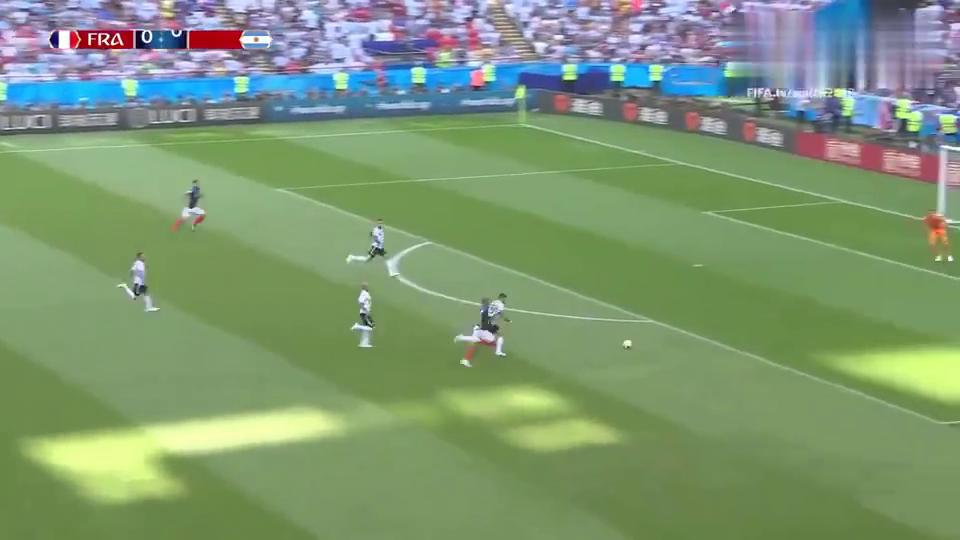 精彩回顾世界杯法国4-3阿根廷,姆巴佩不可阻挡梅西无力回天
