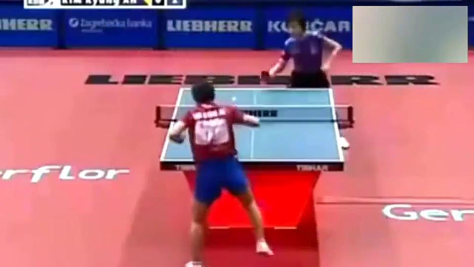 看这么多削球动作,还是张怡宁打削球解气,尤其打世界第一金景娥