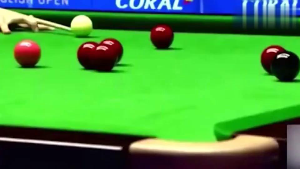 梁文博一杆成名!这一杆球一下子就赢了一百多万!