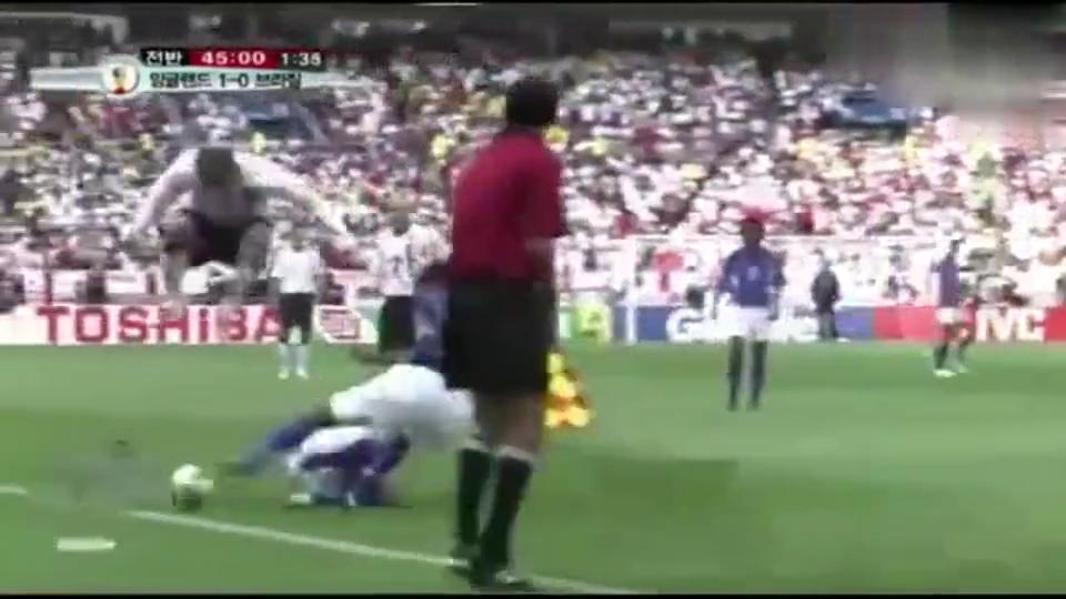 当年贝克汉姆这一跳,间接葬送了英格兰的世界杯夺冠希望