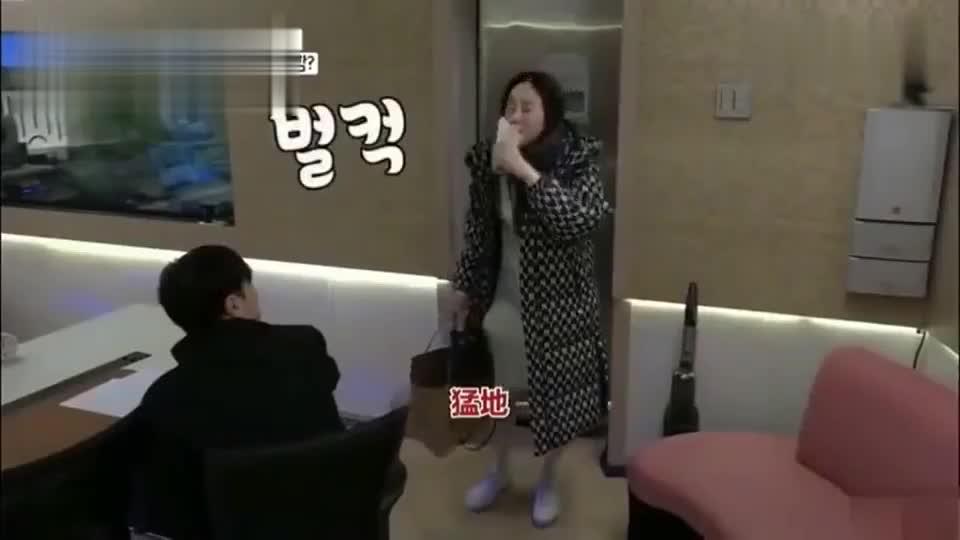 咸素媛去录音还要喝药准备怀二胎,唱歌严重跑调把录音师都吓到了
