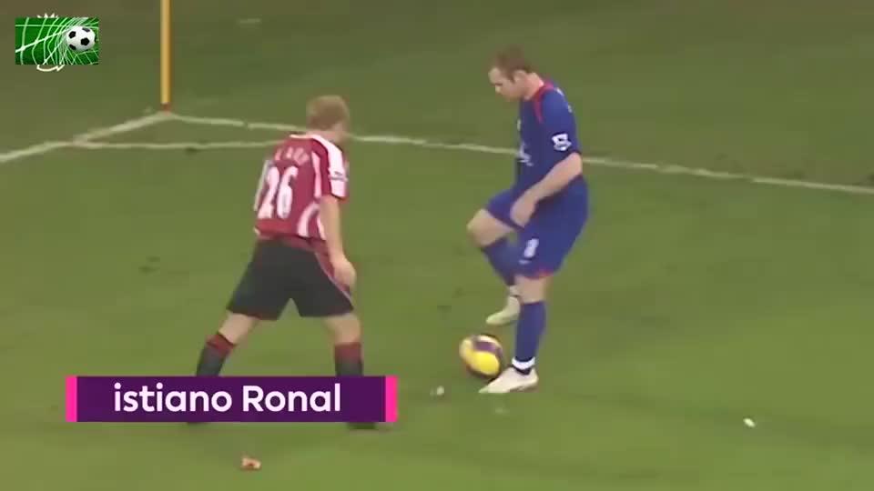足球:当年英超空门不进 C罗你对得起鲁尼360度妙传吗