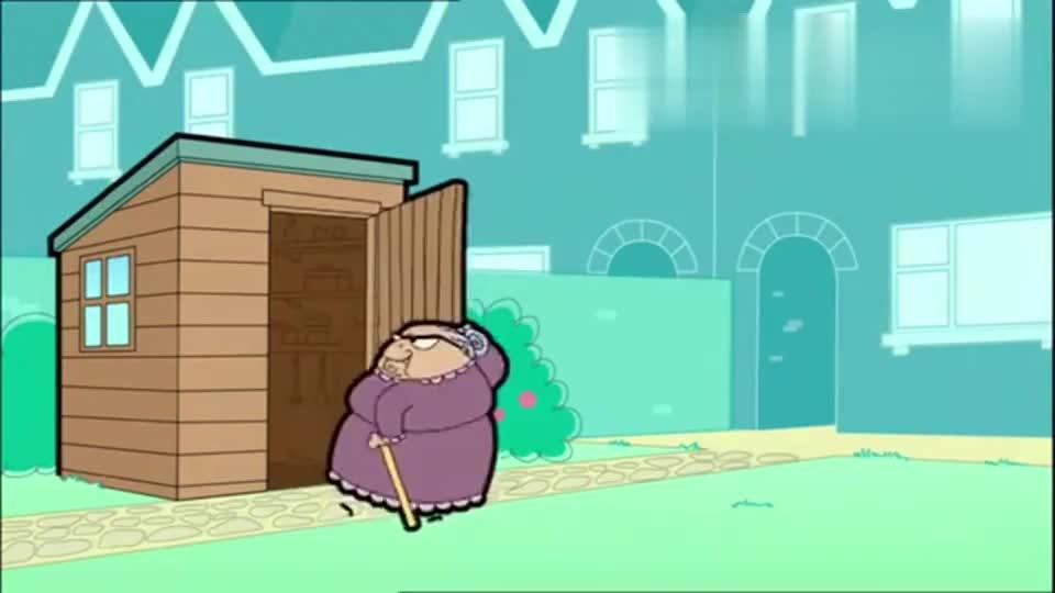 憨豆先生卡通版:憨豆来结账,没想到可恶的保安,换掉他的东西