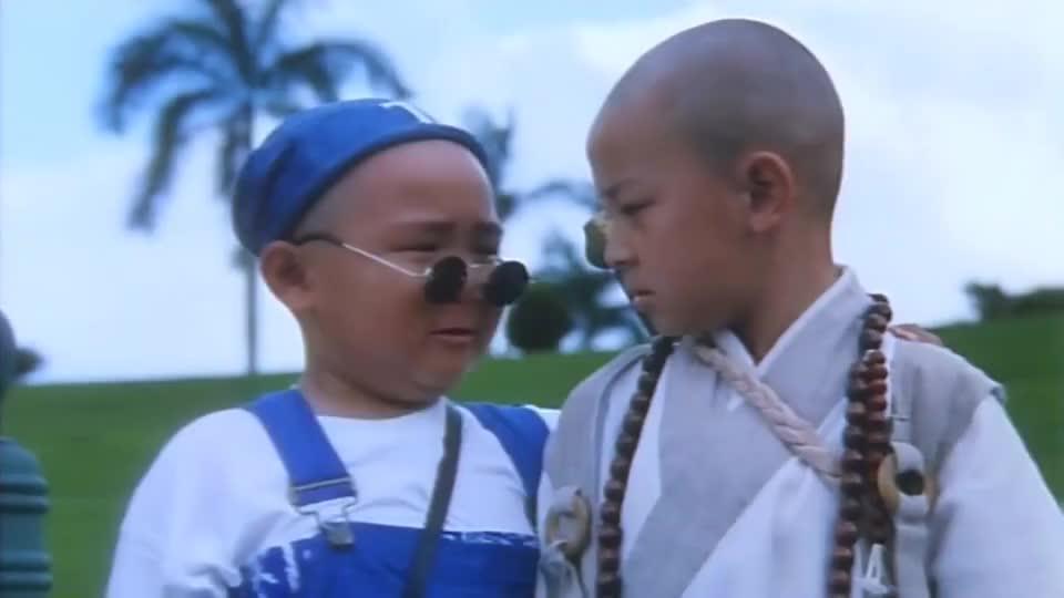 郝劭文和释小龙说英文,也就他们俩能听得懂,吴孟达都无语了