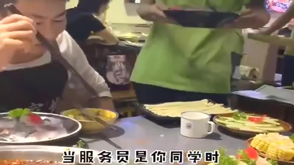 朋友在火锅店当传菜生,看看给我上的毛肚,简直不可思议啊!