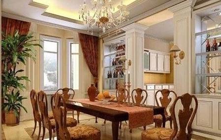 客厅餐桌摆放风水讲究,晋升家居风水的餐桌摆放方法
