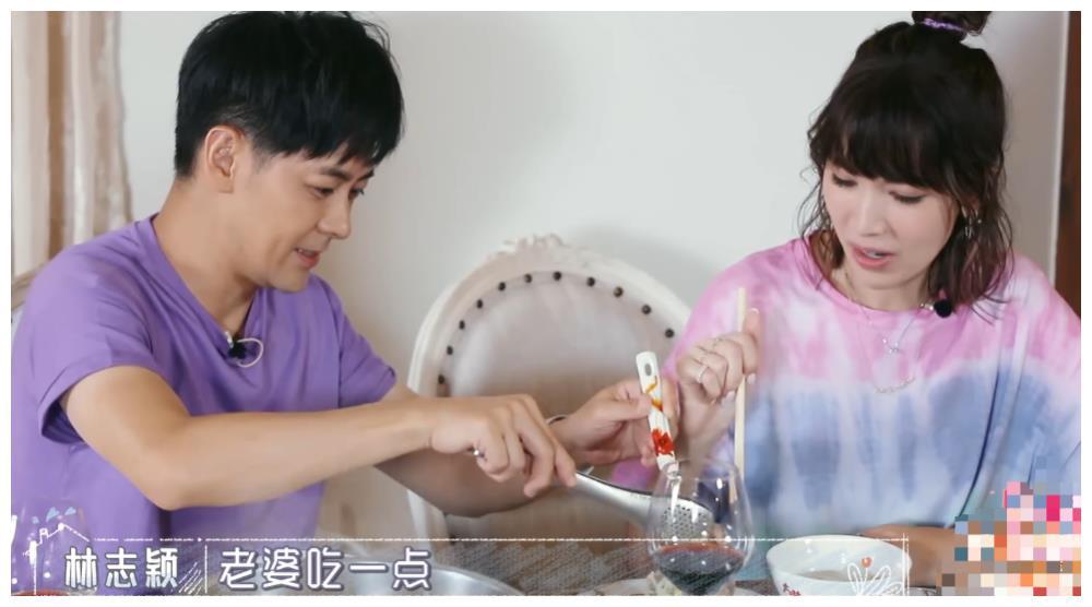 林妈妈教林志颖要多给陈若仪夹菜,他的回复绝了,比秦昊还直男