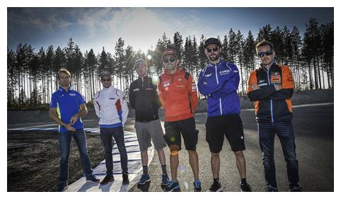 MotoGP展开芬兰KymiRing赛道测试