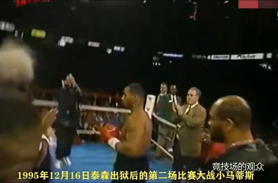 精彩回看泰森出狱后的第二场比赛,3回合KO不败拳王马蒂斯