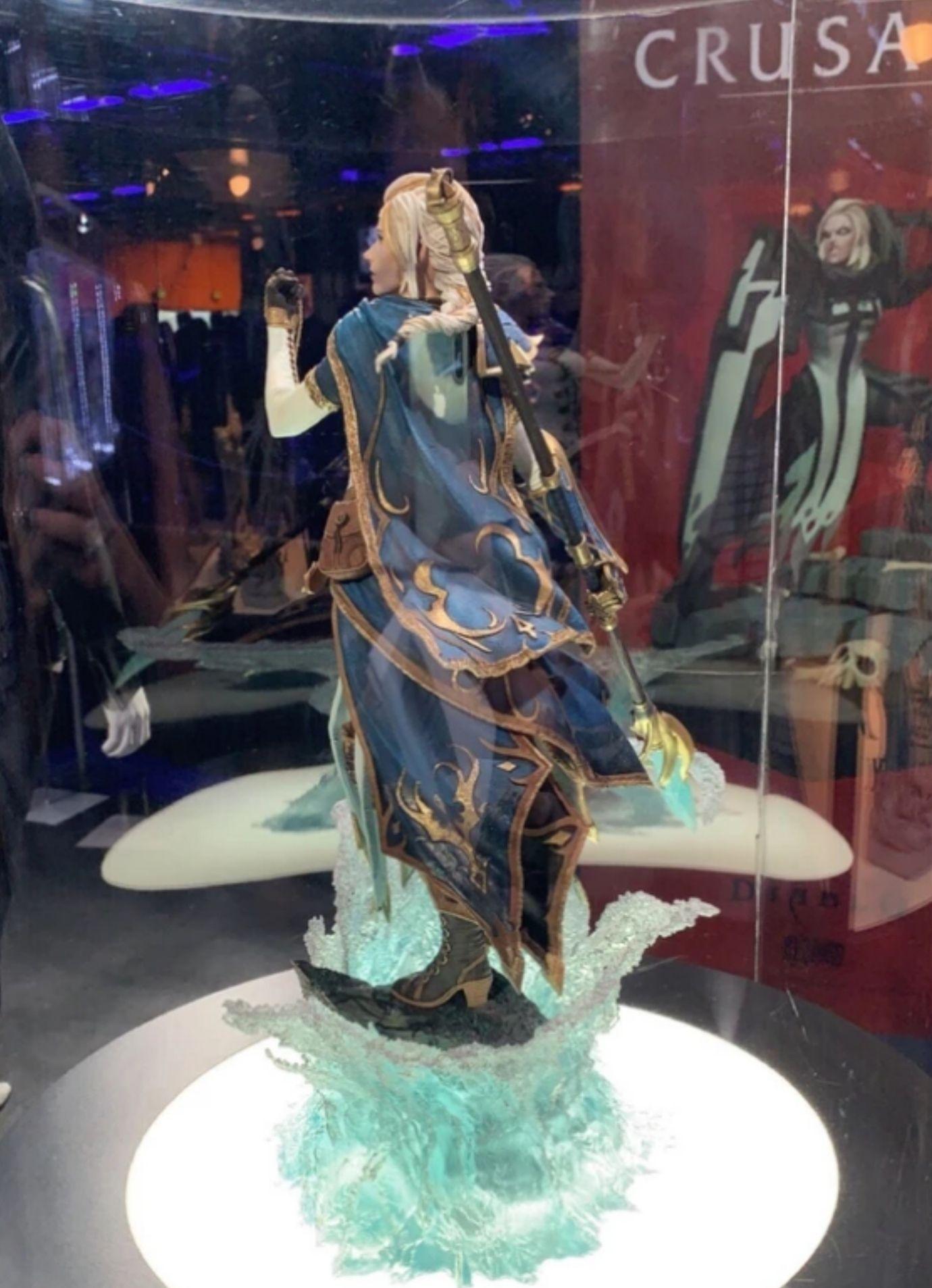 2018暴雪嘉年华,魔兽世界海的女儿吉安娜·普罗德摩尔