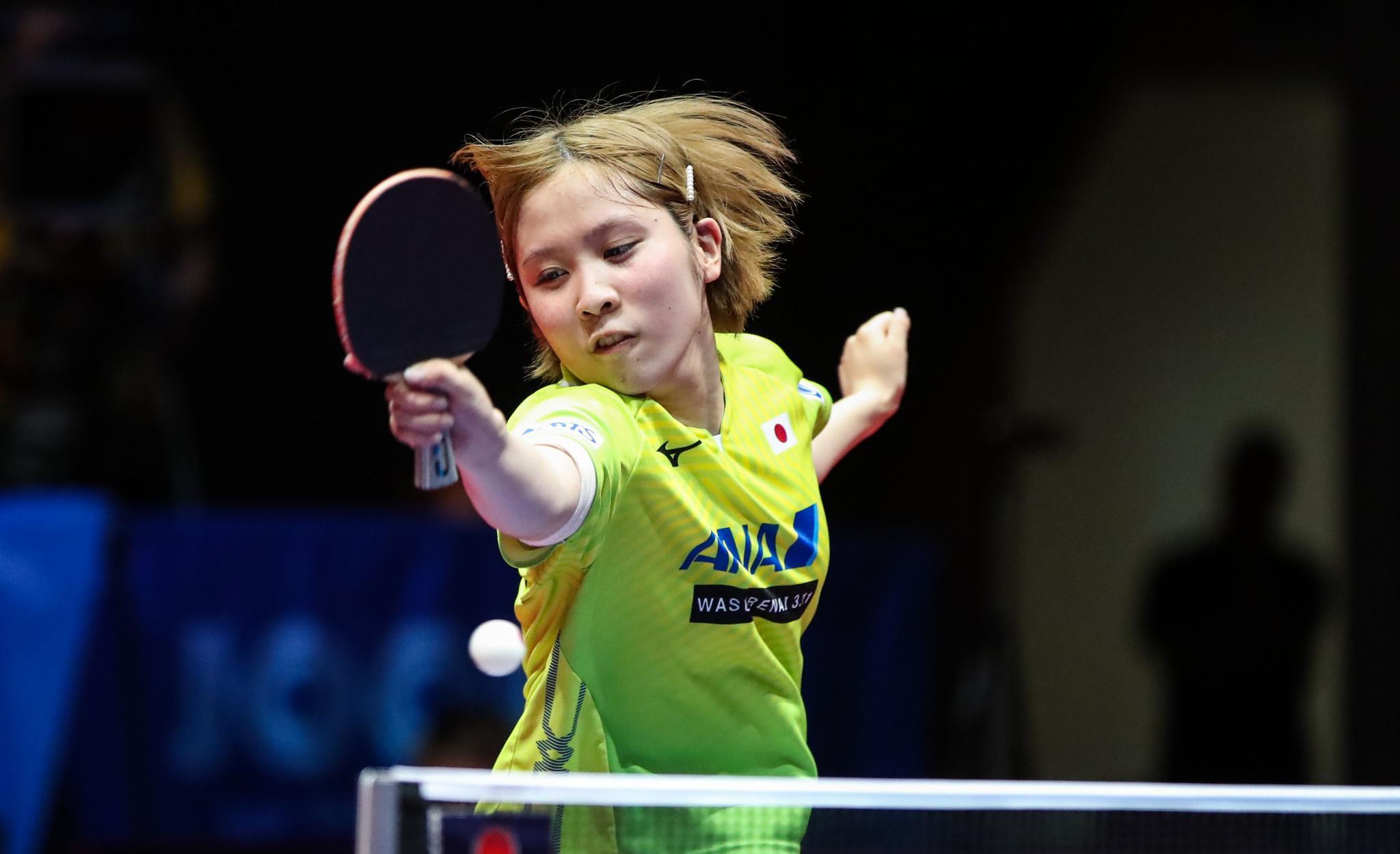 乒乓球——捷克公开赛:陈幸同女单夺冠