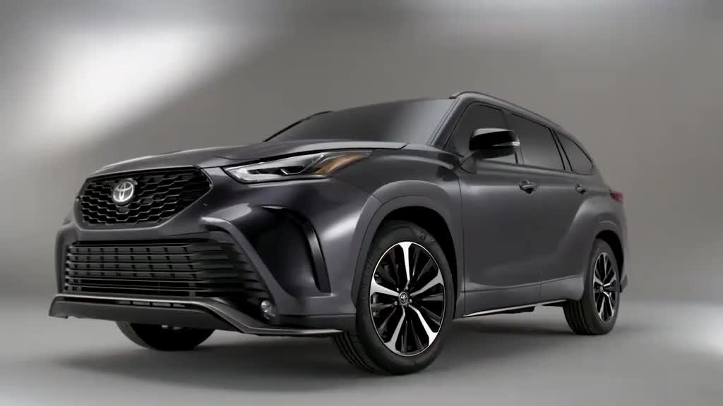 2020款丰田汉兰达官方套件版亮相