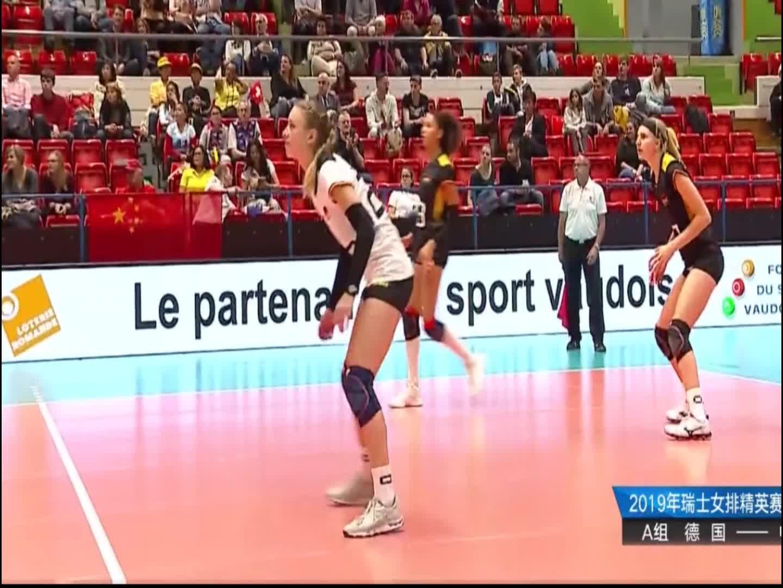 瑞士精英赛,中国队一传接的不好,李盈莹无法扣出实力球