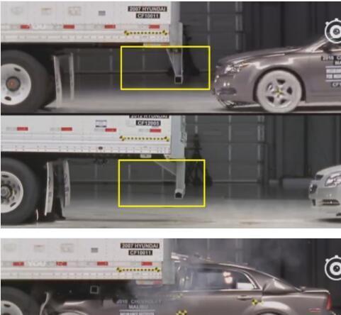 比亚迪秦pro钻大货车底,司机奇迹生还,17万买辆救命车值了