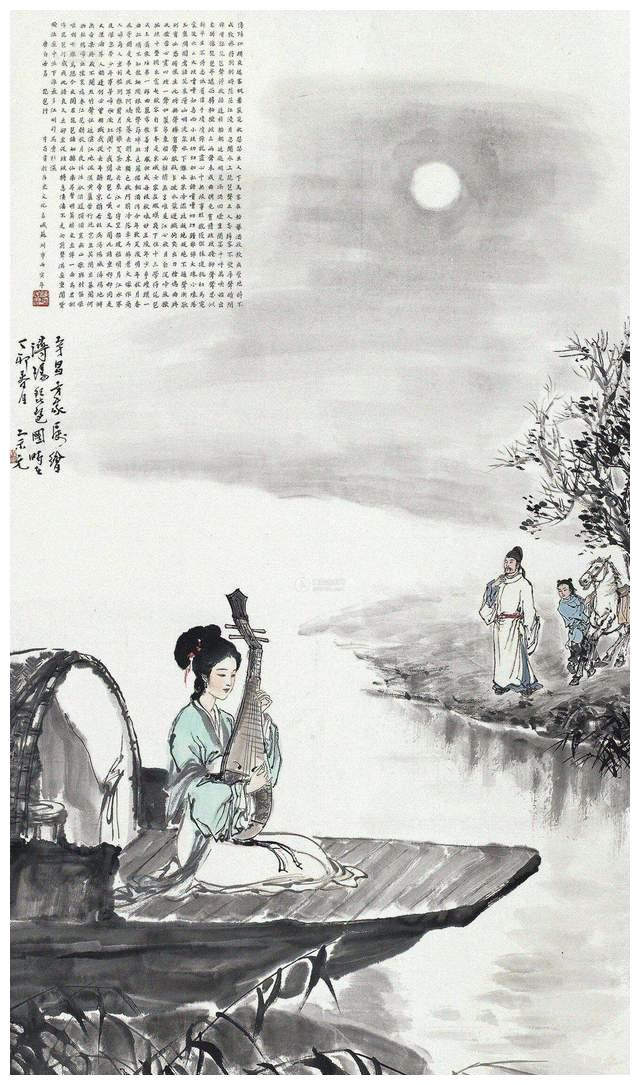 在唐诗中选出10首巅峰代表作:白居易的《琵琶行》力压群雄