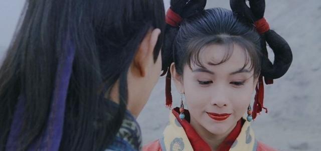 邱淑贞:倚天屠龙记最美小昭,清纯女神,多少人青春的回忆