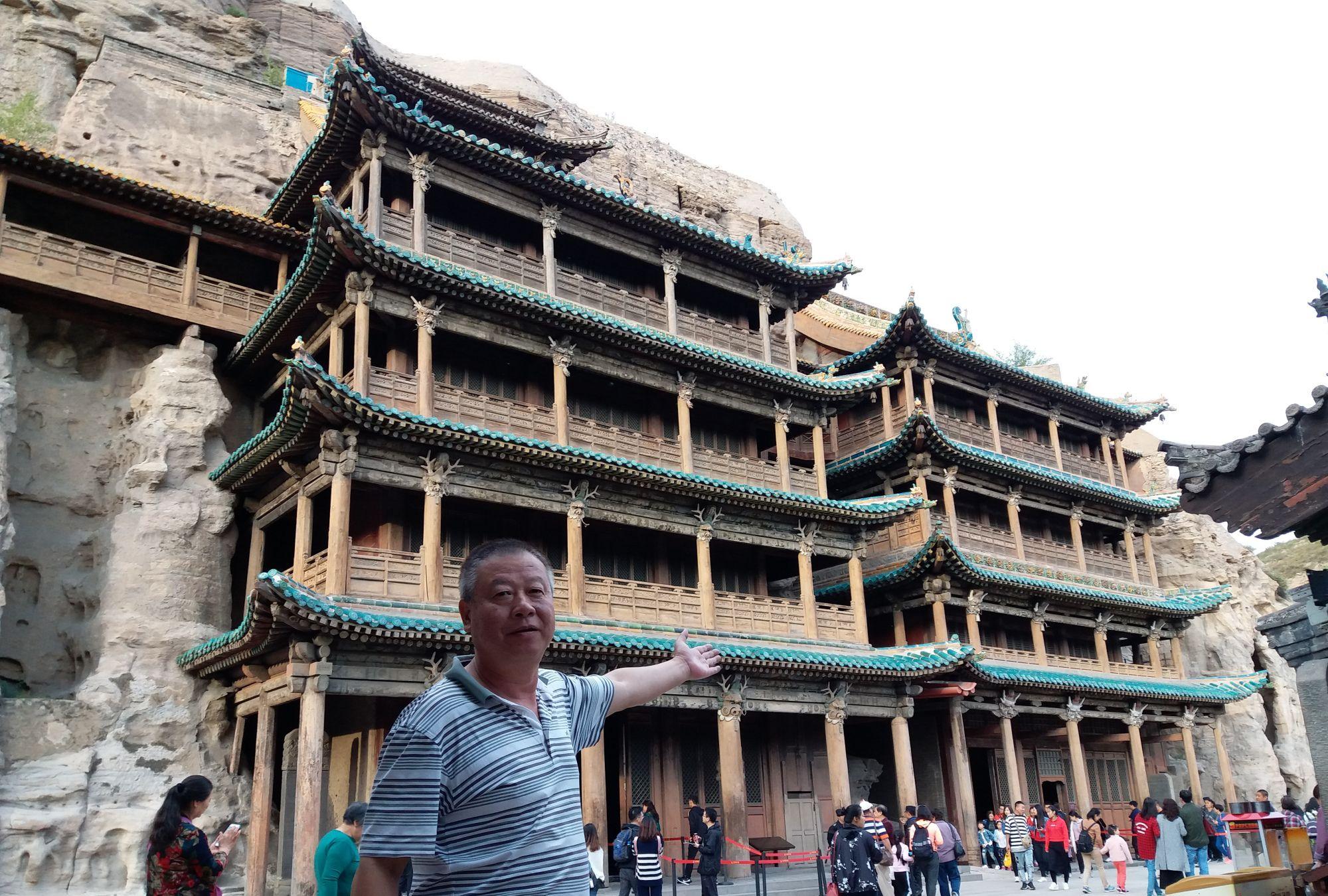 中国四大石窟之一,云岗石窟,太美了