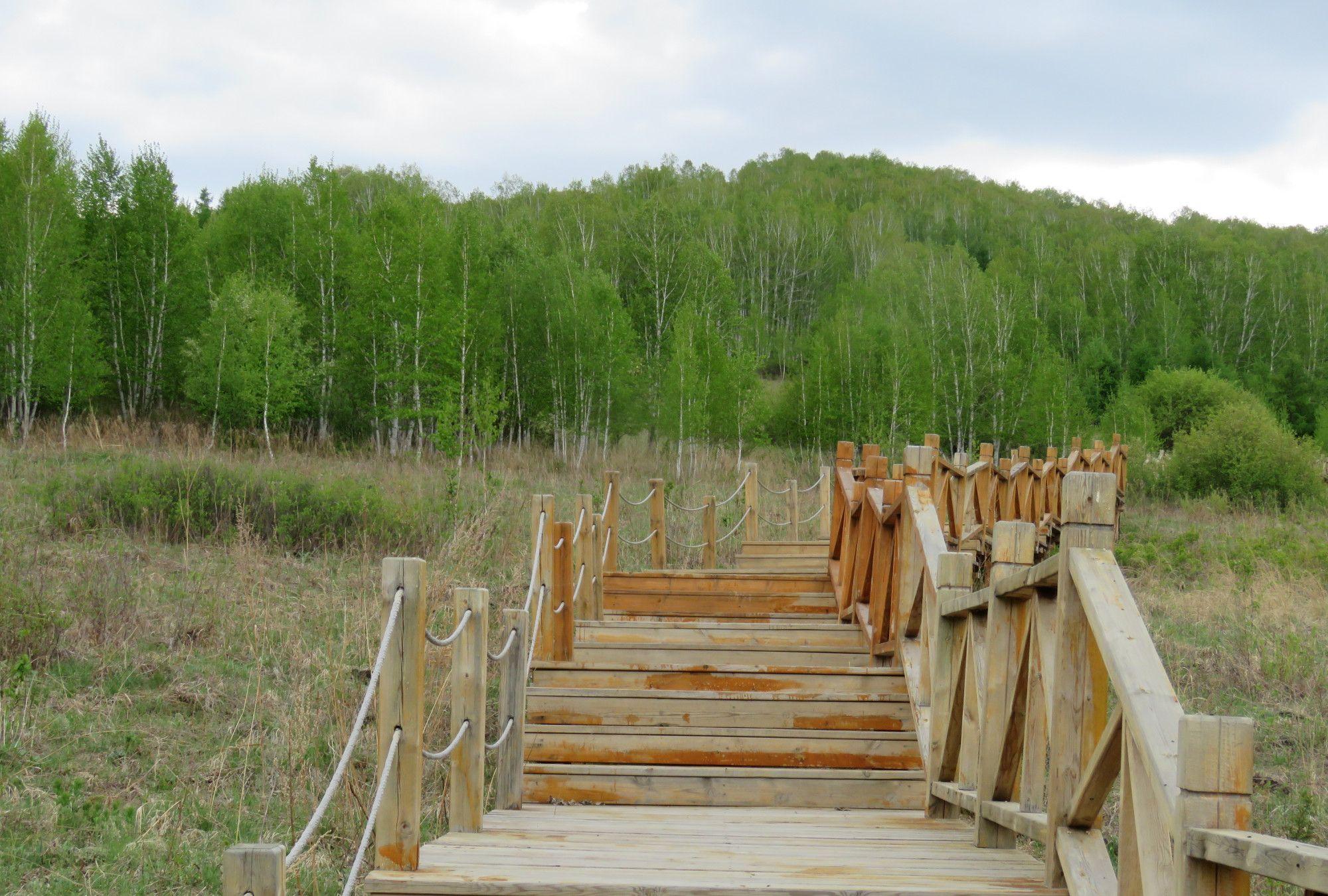呼伦贝尔牙克石凤凰山庄之夏,相约十四冬运会2020