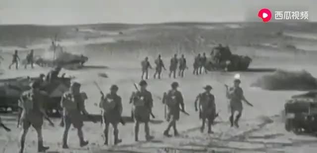 德军元帅隆美尔支援北非战场,仅用两个装甲师打的英军苦不堪言