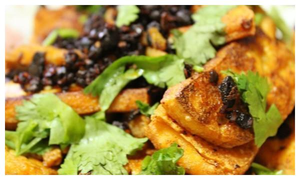 美食推荐:豉香豆腐,酥炸胡豆,苜蓿馄饨or饺子,橙皮烧排骨做法