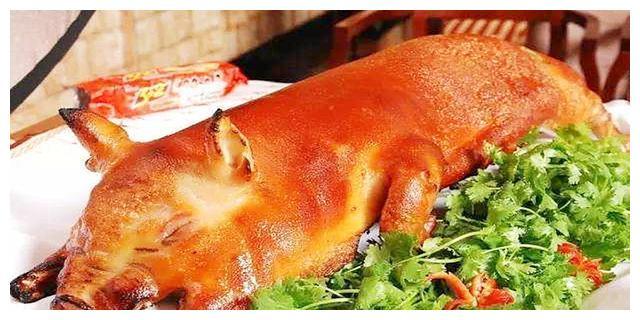 味美湖南、湘菜经典——烤乳猪,酥脆鲜香扑面来