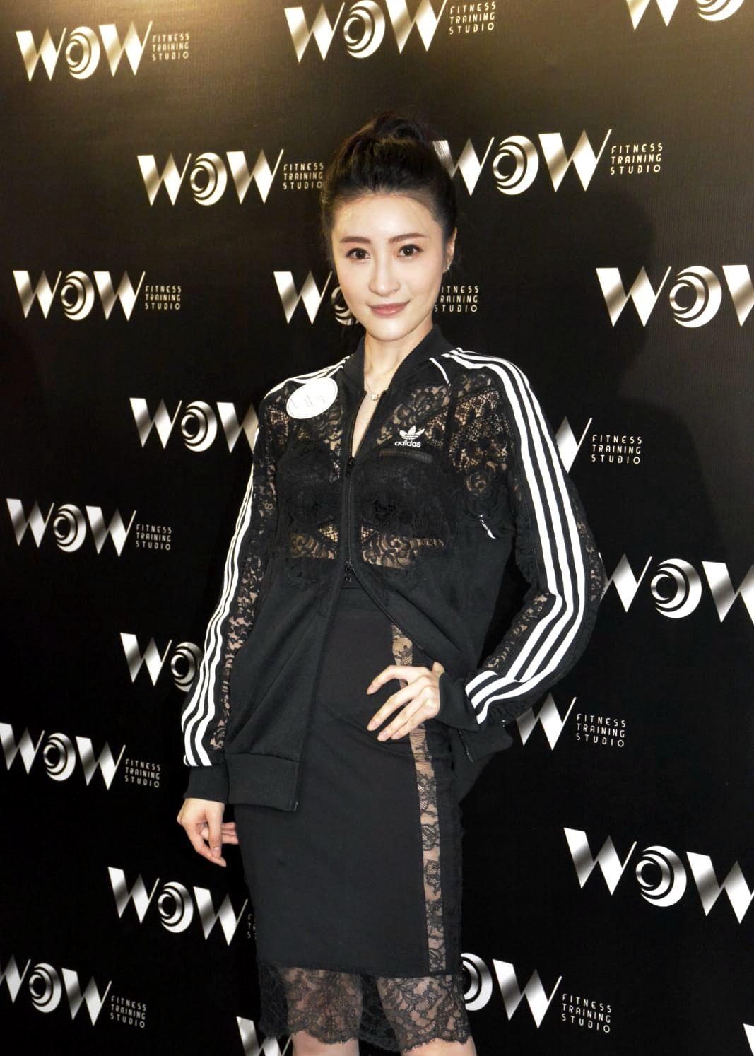 林夏薇出席活动,时尚运动LOOK,阳光健康靓丽动人!