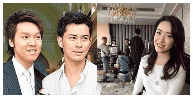 向海岚是郑嘉颖的表姨,更没想到何鸿燊和他居然还是远房表兄弟