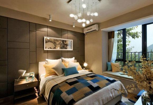 时尚简洁的现代风格装修,卧室装修实用温馨,书房装修有想法