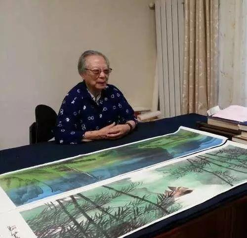 陈佩秋先生国画作品欣赏,是一个能打的人