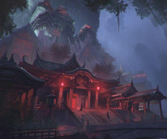 美图:一组美如天上人间的东方古风游戏图片分享