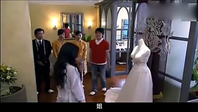 泡沫之夏:大s的尹夏沫真的漂亮,一身婚纱看得何润东眼睛直了!
