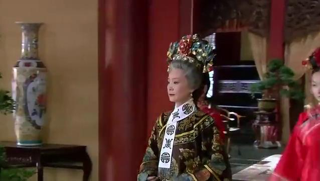 新还珠格格:皇上来慈宁宫问老佛爷,带出来当时的证人