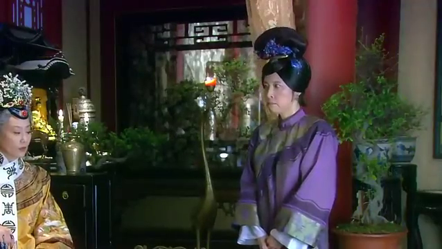 新还珠格格:老佛爷让桂嬷嬷把握好分寸,第二天还是刁难紫薇