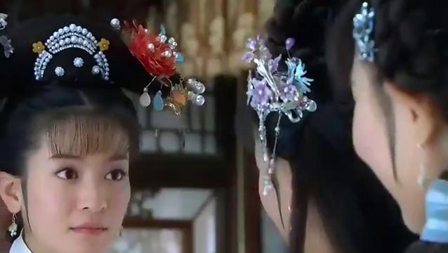 新还珠格格:紫薇才不要自称美女,彩霞说紫薇金锁是仙女