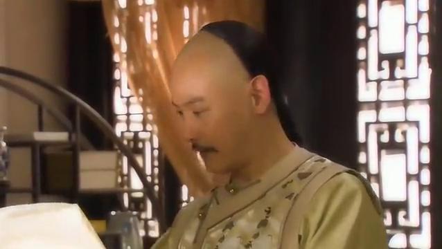 新还珠格格:皇上看到雨荷的字说是好书法,皇上一时说朕说漏嘴
